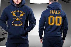 Beacon Hills Lacrosse Hale 00 Hoodie Navy Color Unisex Hoodies