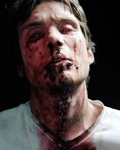Danny Boyle had several alternate endings in mind for 28 Days Later, including one where Jim got infected. Cillian Murphy portrayed infected Jim in this 2002 photoshoot.