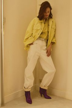 Isabel Marant Resort 2019 Fashion Show Collection: See the complete Isabel Marant Resort 2019 collection. Look 7 Isabel Marant, Fashion Week, Runway Fashion, Fashion Outfits, Fashion Trends, Fashion Boots, Womens Fashion, Vogue Paris, Street Style