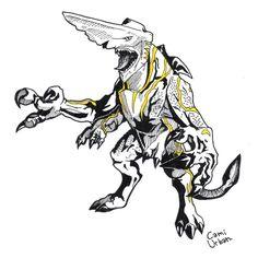Pacific Rim Kaiju: Knifehead (finished) by https://camiurban.deviantart.com on @DeviantArt