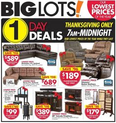 Big Lots 2016 Black Friday Ad Preview