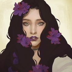 Luana: An art student whose work focuses on flowers. Her most famous series was at her college where she picked flowers for volunteers and arranged them on the person.