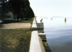 Gerhard Richter, Venice 1985, (Oil on canvas 50cm x 70cm)