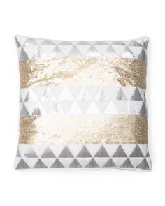 18x18 Matte Sequin Pillow