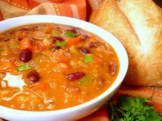 Mexican Red Lentil & Bean Soup3