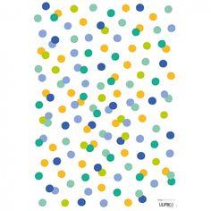 Les stickers A3 confettis multicolores Les Hiboux by Clémence G. pour Lilipinso s'appliquent facilement sur toutes les surfaces lisses et propres. Des stickers aux couleurs et motifs gaies pour un décor qui met de bonne humeur.
