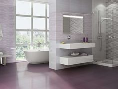 #Azteca Cerámica - Collection Dinamic R3060 #fullcolors #tendance #interiordesign #ceramica #cranberry #dinamic #violet