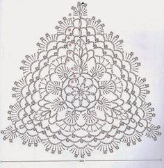 Diy Crafts - Crochet flowers top granny squares 66 Ideas for 2019 Motif Bikini Crochet, Crochet Bra, Crochet Triangle, Crochet Diagram, Crochet Chart, Crochet Squares, Thread Crochet, Crochet Granny, Crochet Doilies