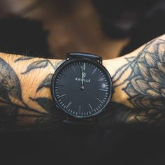 All black everything 🖤 All Black Everything, Daniel Wellington, Omega Watch, Leather, Accessories, Collection, Fashion, Moda, Fashion Styles