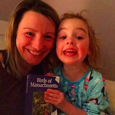 Anyone else being forced to read the official field guide to Massachusetts birds at bedtime? Anyone? #birdlover #bmbtakeover #bedtimeselfie