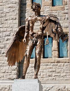 """David Altmejd, """"The Eye,"""" 2010–11, Installation view, photo Christine Guest, Musée des beaux-arts de Montréal"""