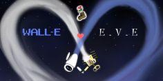 Walle+Eve by MelonPanGya.deviantart.com on @deviantART