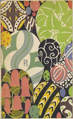 Eggs, Josef Hoffmann  (Austrian, Pirnitz 1870–1956 Vienna), Published by Wiener Werkstätte ca. 1907/8-14