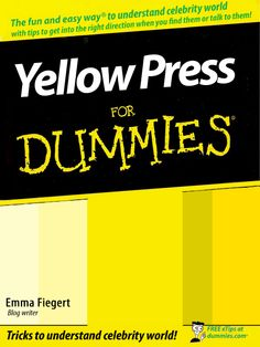 THE YELLOW PRESS = a term for the popular and sensationalist newspapers, a social medium