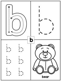 Preschool Math and Literacy Worksheets Letter Worksheets For Preschool, Literacy Worksheets, Numbers Preschool, Preschool Learning Activities, Preschool Curriculum, Homeschooling, Preschool Math, Trace Letters And Numbers, Alphabet Writing