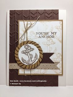 Crafting Buddy: You're My Anchor