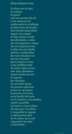 Para todos vosotros, un poema de despedida: 'Chau número tres', de Mario Benedetti