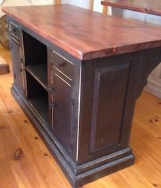 Amish Brunswick Kitchen Island Amish Furniture Pinterest - Amish kitchen island