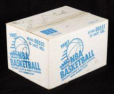 Case of 86-87 Fleer containing up to 40 Jordan rookie cards heading to auction - Michael Jordan Cards Hakeem Olajuwon, Karl Malone, Patrick Ewing, Kareem Abdul Jabbar, Buy Boxes, Magic Johnson, Larry Bird, Basketball Cards, Michael Jordan