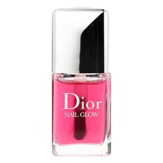 What it is: A nail enhancer that gives your natural nails a shiny, healthy glow. What it does: With one universal shade, this unique nail lacquer enhances the color of your natural nails. When applied on bare nails, the pinks of the nails becom Dior Nail Glow, Dior Nail Polish, Dior Nails, Nail Polish Colors, Nail Swag, Nail Color Trends, Finger, Perfume, Nail Treatment