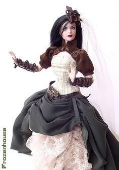 Steampunk barbie...