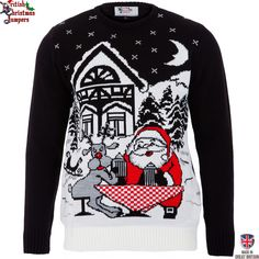 Oktober Xmas  - Mens Christmas Jumper