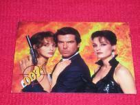 Pierce Brosnan James Bond 007 Spy Promo Card *GOLDEN EYE* movie very rare! $1.95