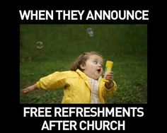Haha! I've seen a few like this! :)) especially the kids at my church! Lol