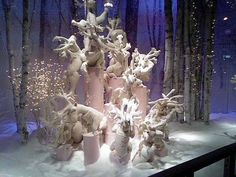Esprit Home, Reno, Candle Holders, Candles, Display, Statue, Christmas, Painting, Window