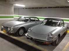 Alfa Romeo Junior GT 1600 (1973) & Alfa Romeo Spider (1973)