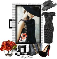 """""""~..Hats of to the Lady..~"""" by white-rosepetal ❤ liked on Polyvore"""