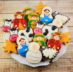 LilaLoa: Nativity Cookies beautiful cookies