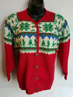 ade405753e1 New to Jhollas on Etsy  VTG Pendleton Petite Wool Sweater Womens Size Small  Holiday Style