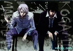 Psycho-Pass-Anime-Kougami-Shinya-Makishima-Shougo-1800770.jpeg (811×582)