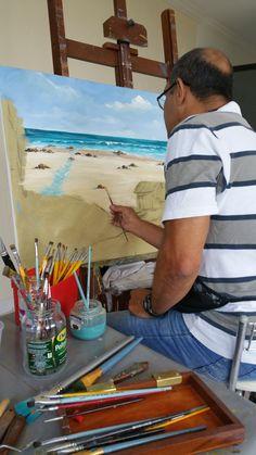 bf99b8075 Como pintar marinha.  professor costerus  metodocosterus