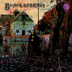 Black Sabbath: Self-titled debut album. Formed in Birmingham, England, in 1968, this band is fronted by guitarist and songwriter Tony Lommi. Love the cover art on this album.