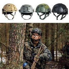 #Military tactical #safety hat airsoft #paintball swat base protective fast helme,  View more on the LINK: http://www.zeppy.io/product/gb/2/291871959852/
