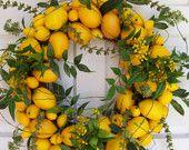 Bright Lemon Wreath........