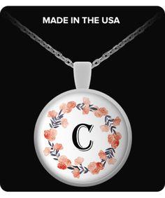 """Letter """"C"""" - Necklace"""
