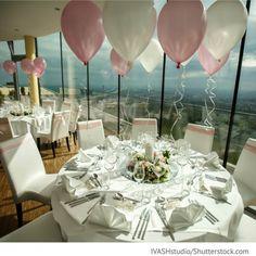Luftballons Dekorieren mit Luftballons