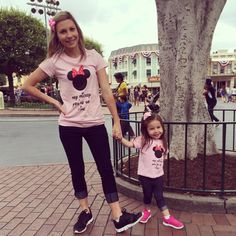 Hey Mickey You're So Fine shirts! Matching. Mother daughter trip. OrchardStreetPress apparel custom order- great deal!