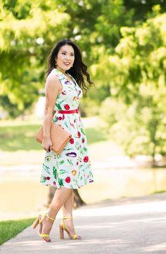 modcloth summer picnic sundress   vintage mod chic style