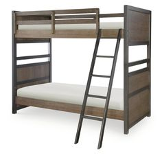 Designed to appeal to multiple ages, Cecil features a reclaimed look that is a popular design trend. The tawny brown color finish shows variations in the grain while the oil rubbed bronze colored hardware adds a rustic appeal to the group. Multiple bed styles and sizes, along with an array of case items, offer up plenty of sleep, storage and study options, and the collection's scale fits almost any room configuration. Cecil offers the style, quality and safety features Viv + Rae is known ...