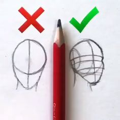 How to face, drawing skills, basic tricks, easy quick pencil sketching - drawing tips Drawing Lessons, Drawing Skills, Drawing Tips, Basic Drawing, Drawing Ideas, Drawing Drawing, Drawing Faces, Face Drawing Easy, Anime Drawing Tutorials