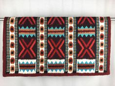 Saddle Blanket, Show Horses, Beautiful Hands, Hand Weaving, Flats, Wool, Tack, Blankets, Stuff To Buy