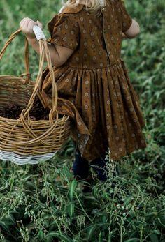 Handmade Vintage Style Woodland Dress | Willow & Rabbit on Etsy