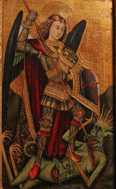 San Miguel Arcángel. Medieval Art, Renaissance Art, Worldwide Tattoo, Gravure Photo, Spiritual Images, Angels Among Us, Archangel Michael, Miguel Angel, Blessed Mother
