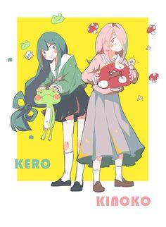 Boku no Hero Academia x Little Witch Academia Little Wich Academia, My Little Witch Academia, My Hero Academia Tsuyu, My Hero Academia Manga, Fandom Crossover, Anime Crossover, Yandere Anime, Otaku Anime, Cute Anime Character