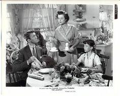 THE JACKPOT    1950 Natalie Wood. Barbara Hale and Jimmy Stewart.