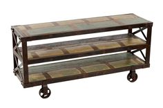 "Upstairs Downstairs Furniture - Avila Trolley 60"", Width: 60.00 Height: 28.00 Depth: 18.00"